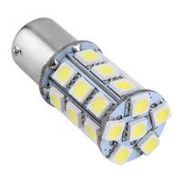 Wholesale Bay Auto - White T25 S25 1157 BAY 15D White SMD LED Car Auto Tail Brake Stop Signal Parking Lights Bulb 12V