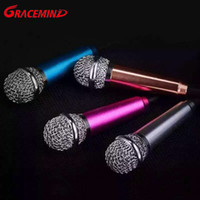 Wholesale microphone for laptop karaoke for sale - Group buy Mini Handheld Karaoke Microphone with Single Directivity mm Plug for Cellphones PC and laptop etc