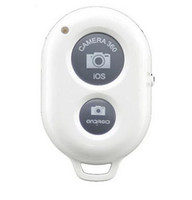 kablosuz zamanlayıcı uzaktan toptan satış-Sıcak Kablosuz 2019 Bluetooth uzaktan deklanşör kameranın zamanlayıcı iyi kontrol akıllı telefon IOS bir Samsung HTC LG için Shutte Ve