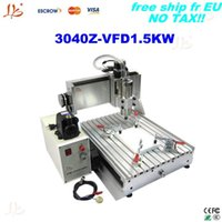 Wholesale Metal Etching Machines - Europe free tax&shipping!!Already assembled LY3040Z-VFD1.5KW desktop CNC engraver with1.5KW VFD Ball Screw metal etching machine