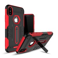 Wholesale Iphone Case Warrior - Kickstand Warrior phone case For Samsung Galaxy J3 2017 J7 2017 Iphone X  Iphone 8 TPU+PC 2 in 1 Anti-proof back cover shell