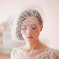 Wholesale birdcage veils for sale - 2017 New Arrival Short Wedding Face veils Short Wedding Bridal Accessories CPA116
