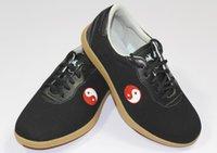 Wholesale Tai Chi Kungfu Shoes - Wholesale-cotton taichi shoes chinese kungfu wushu shoes kungfu supply taiji shoes cotton Tai chi design