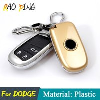 Car Cover Case Key Shell para Dodge Calibre Ram1500 Journey Caravana Nitro Ram 2500 3500 Key Protection Car Car Styling.