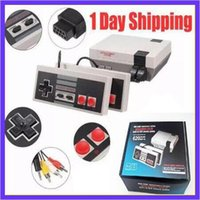 Wholesale Handheld Toys - Nes Classic Handheld Game Consoles Christmas games mini TV Video Entertainment System 500 600 620 Classic Games For Nes Classic Games SNES