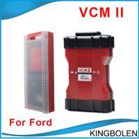 vcm quality toptan satış-VCM II Kimlikleri 21 dil Ile OBD II Teşhis Aracı VCM2 VCM 2 V96 Ford Mazda Teşhis aracı Yüksek Kalite DHL Ücretsiz Kargo
