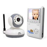 "Wholesale Lcd Video Monitor Kit - Baby Monitor Kits 2.4GHz Wireless Digital Talk Device IR 2.4""LCD 2-Way Video Intercom Infant monitors Security Camera Night Vision"