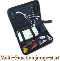 Wholesale engine start new resale online - New Smart car Starter mini mAh multifunctional Emergency Car engine start battery charger car charge power bank for pc loptop cellphone