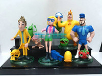 Wholesale Stand Action Toy - Cloudy with a Chance of Meatballs 2 Roles Action Figures PVC Toys 14Pcs Lot with Stands