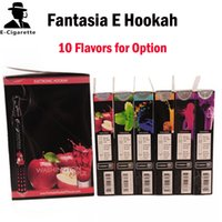Wholesale Cigarette Vaporizer Brands - Brand New Original Fantasia E hookah pen 800 puffs disposable hookah pen shisha hookah ehookah vaporizer pen flavoured cigarette 08011