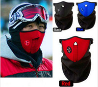 Wholesale Motorcycle Guards - Cycling MASK High Quality Veil Guard Sport Bike Motorcycle Ski Outdoor Sports Bike Bicycle Neck Warm Face Mask