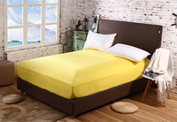 Wholesale Full Size Mattress Cover - Wholesale-Full  Queen Size Bed Sheet  Mattress Cover Mattress Pad Protector Fitted Sheet Fitted Bedding GM008