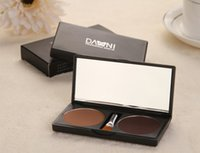 Wholesale Danni Eyebrow Powder - Wholesale-2015 New Arrivals Professional Eye Shadow Eye Brow Makeup 2 Color Waterproof Eyebrow Powder Make Up Palette By DANNI