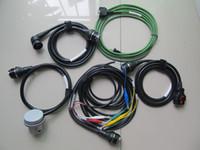 juego completo de mb star c4 al por mayor-Los mejores cables MB STAR C4 de calidad superior para STAR Diagnosis C4 Set completo con 5 cables para conexión SD C4