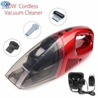 Wholesale Car Hand Held Vacuum - 60W Cordless Mini Portable Vacuum Cleaner For Car Dry Wet Handheld Super Suction Dust Collector Cleaning