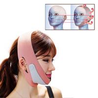 Wholesale facial massage mask - Face-Lift Mask Massage Slimming Face Shaper Relaxation Facial Slimming Mask Face Lift Up Belt Sleeping Bandage Skin Care A237H027