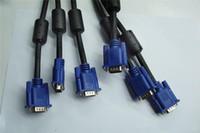 Wholesale head monitors for sale - VGA cable m VGA Computer Cables TV Monitor Video Line Blue Head for Video Transfer Computer Cables VGA