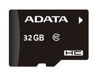 Tf Carte Mémoire 32gb Pas Cher-Adata 32GB Carte Micro SD Classe 10 SDHC TF Transflash Carte mémoire 32GB avec adaptateur + Paquet scellé pour téléphones cellulaires Appareils photo Tablet PC 5pcs