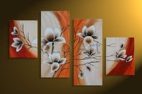 Wholesale Olo Art - Large art handmade Abstract modern flowers oil paintings on canvas, wholesale oil paintings oLo PS_014