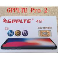 Wholesale Gpp Pro - Hot GPPLTE PRO+ Unlock JAPAN AU softbank iPhone 8 ios11.0.3 iphone8+ 7 6S 6 5S Plus + LTE GPP Unlocking Sim pro