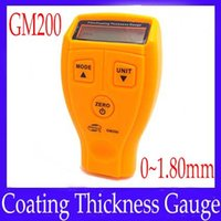 Wholesale Film Coating Thickness gauge GM200 Iron base thickness tester moq