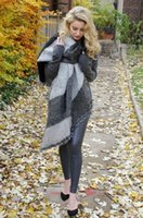 Wholesale Thick Wool Scarves Sale - 3 Colors Hot Sale 2017 Winter Fashion Blanket Scarf Female Cashmere Pashmina Wool Scarf Shawl Warm Thick Scarves Cape Wraps