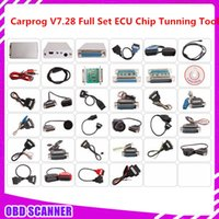 Wholesale Carprog Repair - Wholesale-2015 Newest Car prog Carprog V7.28 Full 21 Adaptor Professional Carprog ECU Programmer Auto Repair Airbag Reset Tools best price