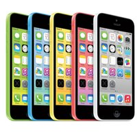 Wholesale Wholesale Unlocked Gsm Smart Phones - Refurbished Apple Iphone 5C 4.0Inch Dual Core IOS 7.0 8.0MP Camera AT&T T-Mobile GSM Unlocked Original Screen Smart Phone
