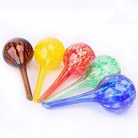 ingrosso forniture per giardini-Water Globes Glass Plant Lampadine per innaffiare Garden Supplies Fiori e piante Watering Tool For Multi Colors 5mz KK