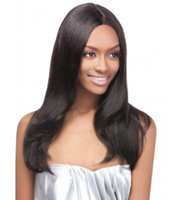 Wholesale unprocessed virgin silk lace front wigs resale online - Full Lace Wigs silk New Unprocessed Glueless Density Human Hair Straight Peruvian Virgin Hair Lace Front Wig With Baby Hair Kabell