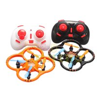 Wholesale rc mini helicopter free shipping - Wholesale-New Quadcopter U207 Remote Control UFO 2.4g Six-axis Gyro Mini RC Helicopter Free Shipping