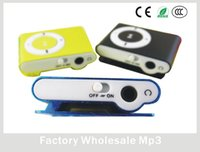 Wholesale Cheap Mini Speakers - Waterproof MP3 Player With SD TF Card USB Slot Cheap Mini Clip Easy To Operate Exquisite MP3 9 Colors Optional