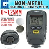 GX-CT01 Paint Coating Dicke Tester Digital Gauge Meter Instrument 1.25mm Eisen Aluminium Basis Metall Auto Automotive