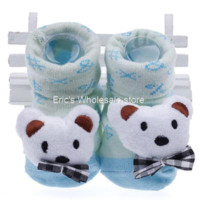 Wholesale Socks Child Shoes - Wholesale 5pairs 5 Patterns New Toddler Newborn Soft Sole Child Kid Baby Indoor Anti-slip Warm Sock Shoe Booties Fit 0-6 month