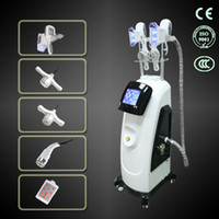 Wholesale Cryo Laser - 2017 Multifunction vertival double cool sculpting cryo+lipo laser+cavitation+RF  4 in 1 fat freezing weight loss machine