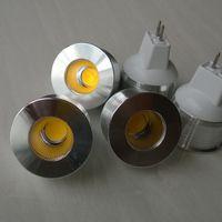 Wholesale High Power Led Spotlight Mini - Dimmable MR11 Led Super High Power COB LED Bulbs 5W 12V White Warm White mini LED Bulb Lamp indoor Lighting LED Bulbs Lamp
