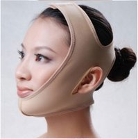 Wholesale Face Lift Belt - Hot Marketing Facial Slimming Bandage Skin Care Belt Shape And Lift Reduce Double Chin Face Mask Face Thining Band tanwc