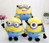 """Wholesale Despicable Big - Despicable ME Toy Movie Plush Toys 10"""" 25cm Jorge 3D eyes Stewart Dave NWT with tags"""
