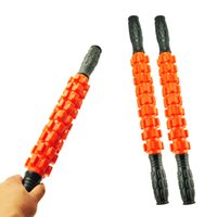 Wholesale Exercise Sticks - Massager Roller Stick Trigger Point Muscle Roller Exercise Therapy Releasing Tight Body Massage tool