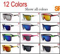 Wholesale Wholesale Coats For Men - FLYNN Brand Designer Sunglasses for man and Women Sunglasses Men Reflective Coating Square Sun Glasses Women outdoor 6 colors sun glasses