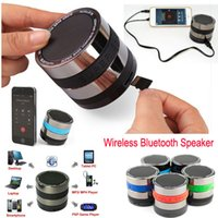 Wholesale Loud Mini Speakers For Tablets - Portable Bluetooth Speaker Stereo Loud Super Bass Mini Wireless Speakers with AUX input Support SD Card For iPhone 6 5s samsung HTC Tablet