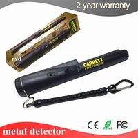 Wholesale Detector Garrett - Wholesale-2016 upgraded Sensitivity Garrett metal detector pro pointer Pinpointing with Bracelet Hand Held Metal Detector Water-resistant