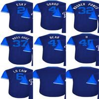 Wholesale xs power - 2017-Little League kansas Alcides Escobar Esky Alex Gordon Gordo Brandon Maurer Maurer Power Kelvin Herrera H Mens Kids baseball Jerseys