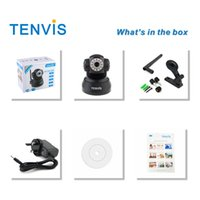 TRANSPORTE LIVRE <b>TENVIS WIRELESS IP CAMERA</b> PAN / TILT BABY / PET / HOME MONITOR WIFI CAM IPHONE / ANDROID IP Camera JPT3815W