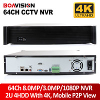 Wholesale 64ch Dvr - New Arrivals 2U Casing 64 Channel 8MP 3MP 1080P NVR ,Support 64Ch 4K(4096*2160)  5.0MP  IP Camera Onvif,Goolink P2P View