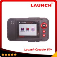 Wholesale ford brand cars - Multi-brand cars 100% original Launch CreaderVII+ auto code reader scanner same function with CRP123 free shipping