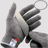 Wholesale gloves cut - Cut Resistant Gloves Cut Level 5 Protection Safety Kitchen Cuts Gloves Anti Cut Gloves Kitchen Tools 2pcs pair CCA7997 100pair