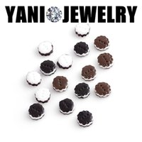 Wholesale Chocolate Living Locket - 20pcs lot Free shipping Chocolate Siscuits Charms Pendant Cartoon Charms For Glass Living Memory Locket