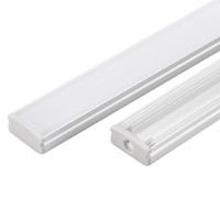 Wholesale Profile Extrusions - 30m (30pcs) a lot, 1m per piece anodized led aluminum profile extrusion for led flexible strips light
