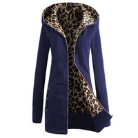 Wholesale women s clothing large for sale - Thicken large size leopard print women s jacket autumn and winter Europe and the new high quality women s clothing